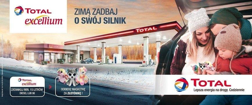 TOTAL: promocja na paliwa wyższej jakości