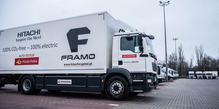 Poczta Polska testuje największą elektryczną ciężarówkę