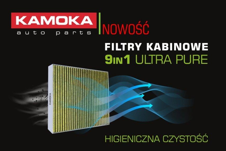 Filtry kabinowe 9in1 Ultra Pure. Nowość, którą pokochają Twoi klienci.