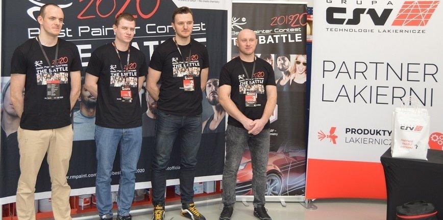 Polskie eliminacje w konkursie na Najlepszego Lakiernika Marki R-M 2020