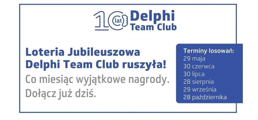 Program lojalnościowy Delphi Team Club świętuje 10 lat istnienia