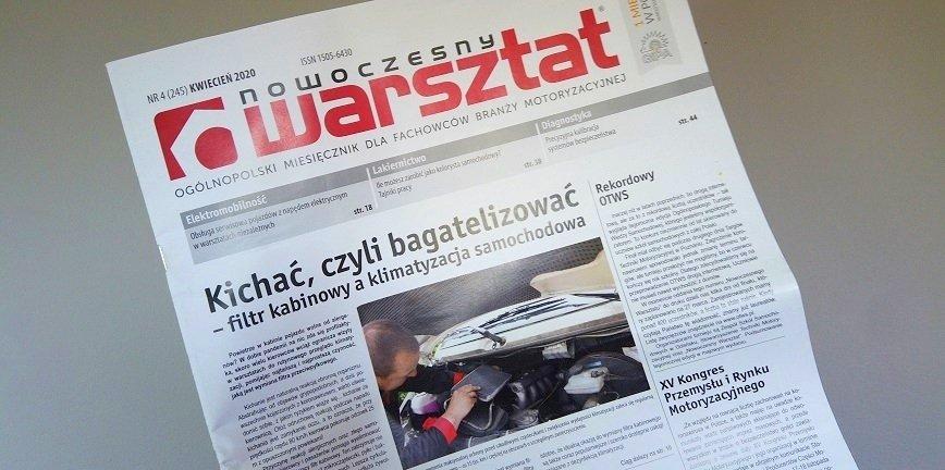Nowoczesny Warsztat - pobierz bezpłatnie najnowszy numer!