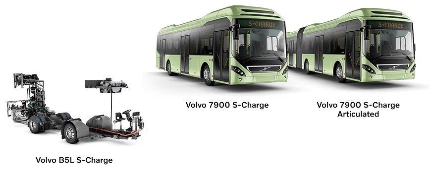Dłuższy zasięg autobusów Volvo na napędzie elektrycznym