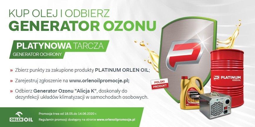 Promocja w ORLEN OIL: zbieraj punkty, odbierz generator ozonu