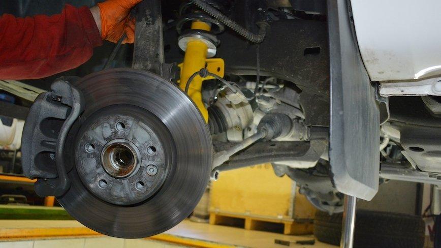 VW Amarok: wymiana zawieszenia na BILSTEIN B6 Performance [ZDJĘCIA]