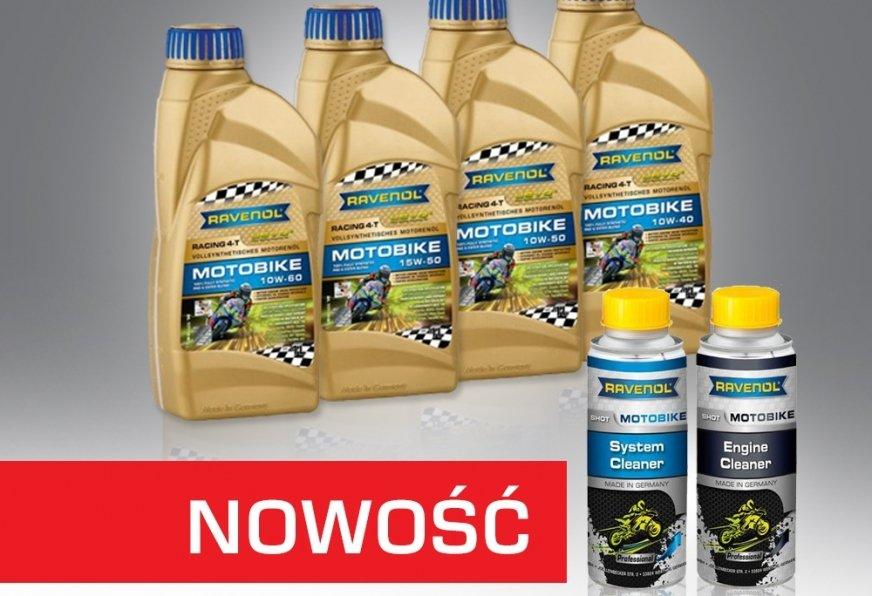 Nowe oleje silnikowe serii Racing 4-T Motobike w technologii USVO