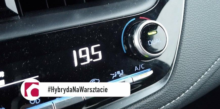 Serwis klimatyzacji w hybrydach i elektrykach #HybrydaNaWarsztacie