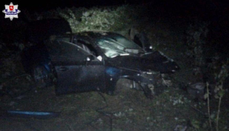 25-letni mechanik rozbił 400-konne BMW klientki. Siła uderzenia wyrwała silnik
