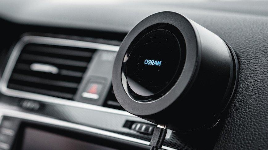 OSRAM Air Zing MiniTM – czyste powietrze w samochodzie