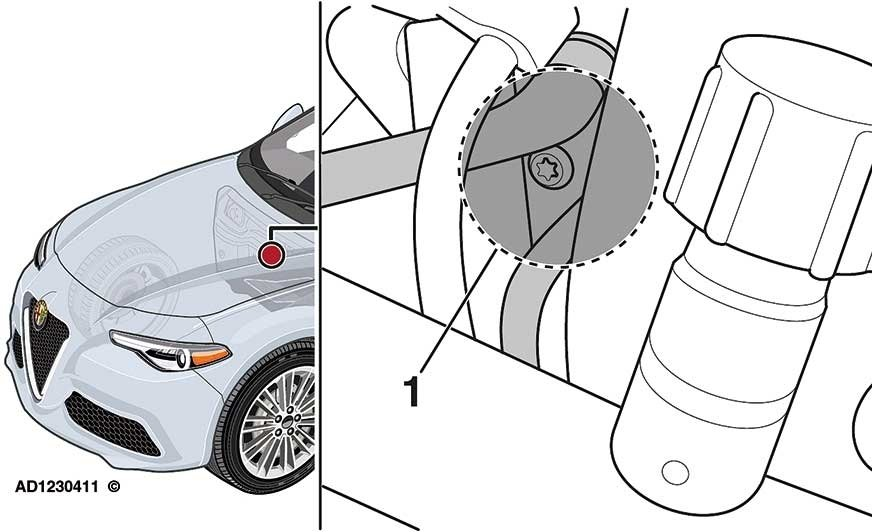 Alfa Romeo: wyciek płynu chłodzącego silnika zobszaru kolektora ssącego
