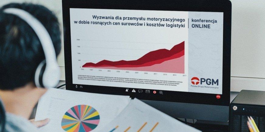 Polska Grupa Motoryzacyjna organizuje konferencję online dla producentów części samochodowych