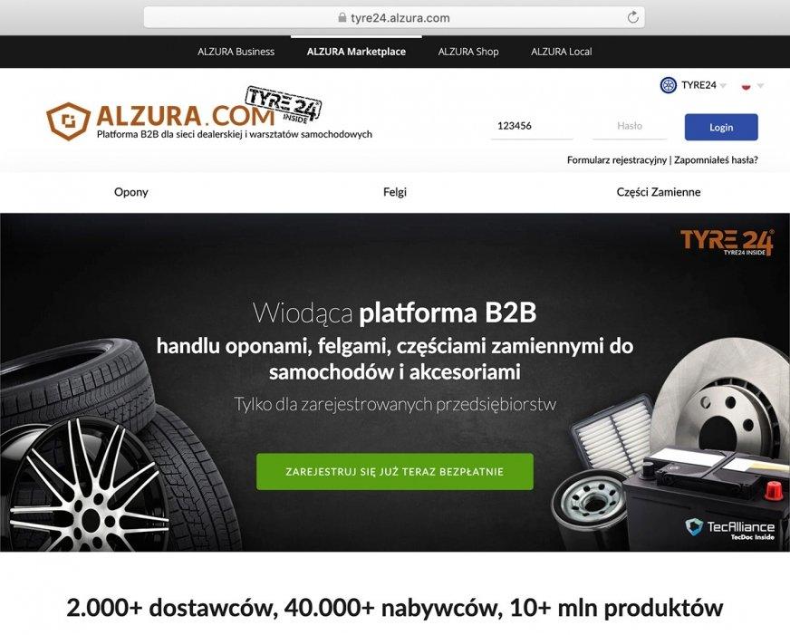 ALZURA Tyre24: Portal B2B wspiera rozwój dostawców w całej Europie