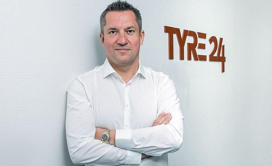 Michael Saitow od 19 lat stoi na czele  firmy Saitow AG, do której należy platforma Tyre24
