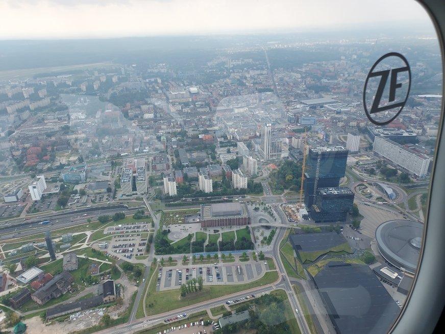 Podniebna podróż Zeppelina ZF w Polsce