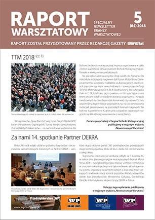 Raport Warsztatowy 5(84)/2018
