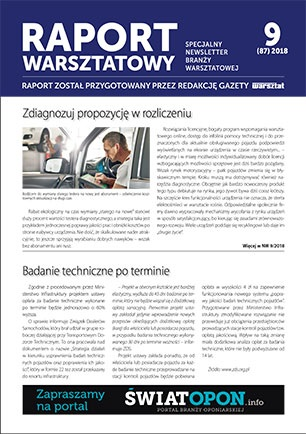 Raport Warsztatowy 9(87)/2018