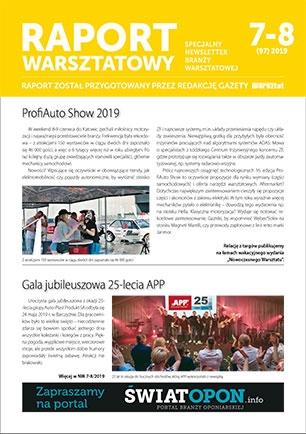 Raport Warsztatowy 7(97)/2019