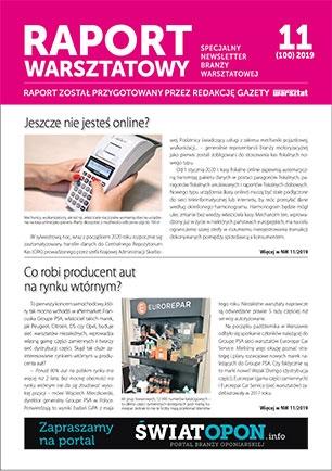 Raport Warsztatowy 11(100)/2019