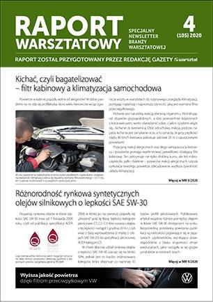 Raport Warsztatowy 4(105)/2020