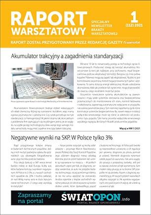 Raport Warsztatowy 1(112)/2021