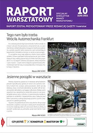 Raport Warsztatowy 10(120)/2021