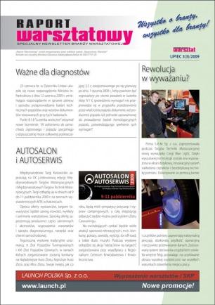 Raport Warsztatowy 3(3)/2009