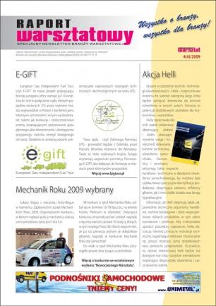 Raport Warsztatowy 4(4)/2009