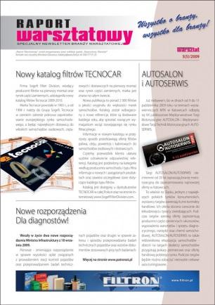 Raport Warsztatowy 5(5)/2009