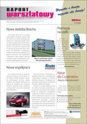 Raport Warsztatowy 7(7)/2009