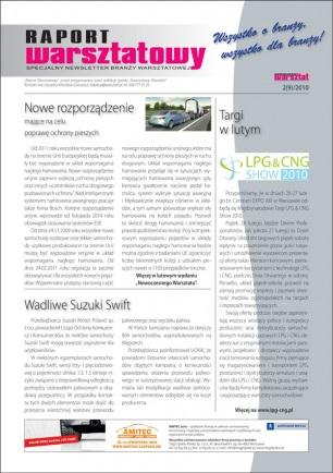 Raport Warsztatowy 2(9)/2010