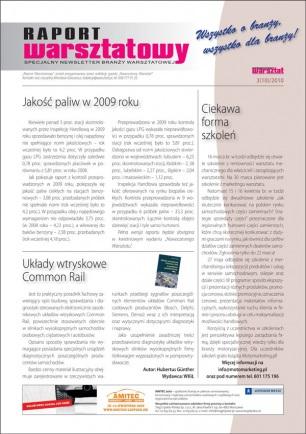 Raport Warsztatowy 3(10)/2010