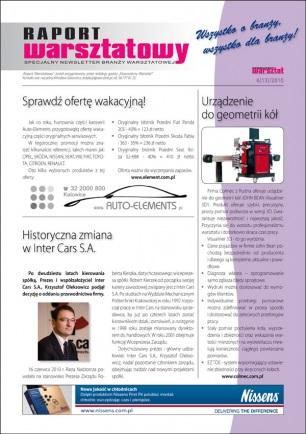 Raport Warsztatowy 6(13)/2010