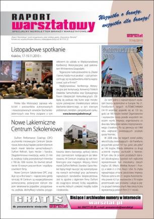 Raport Warsztatowy 7(14)/2010