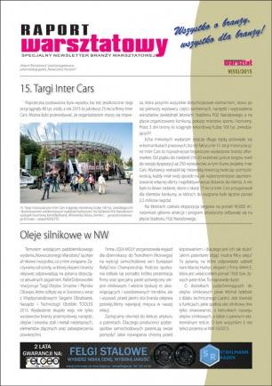 Raport Warsztatowy 9(55)/2015