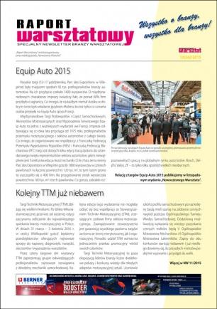 Raport Warsztatowy 10(56)/2015