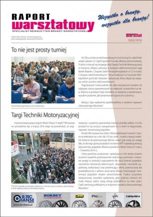 Raport Warsztatowy 5(62)/2016