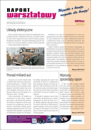 Raport Warsztatowy 8(65)/2016