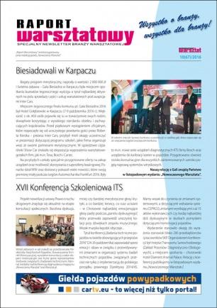 Raport Warsztatowy 10(67)/2016