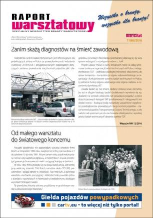 Raport Warsztatowy 11(68)/2016