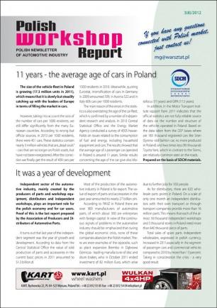 Polish Workshop Report 3(8)2012
