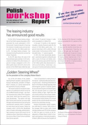 Polish Workshop Report 1(11)/2014