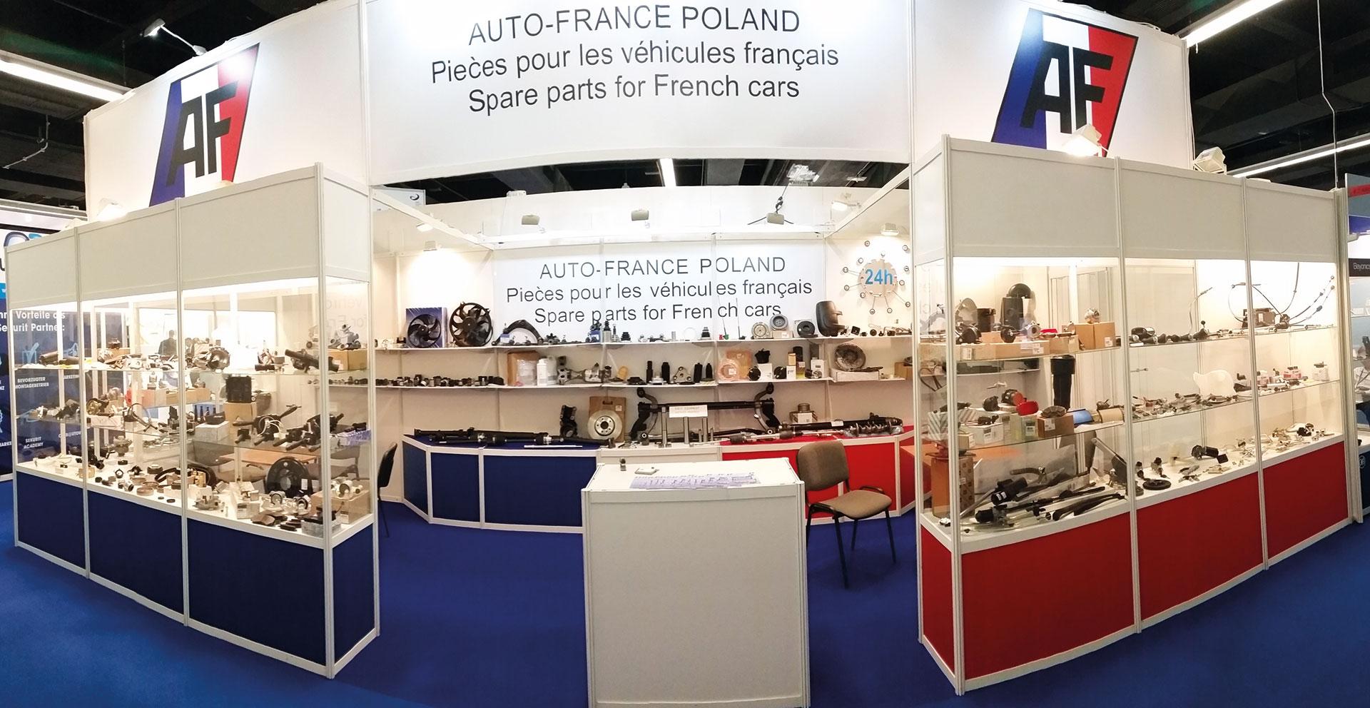 Firma Auto-France była jednym z wystawców tegorocznej Automechaniki we Frankfurcie