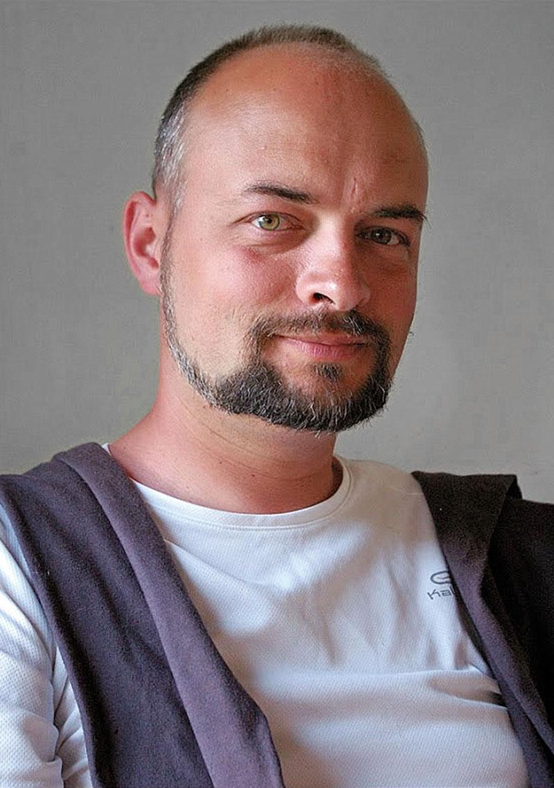 Przemysław Stępień, specjalista ds. systemów bezpieczeństwa zfirmy Amervox