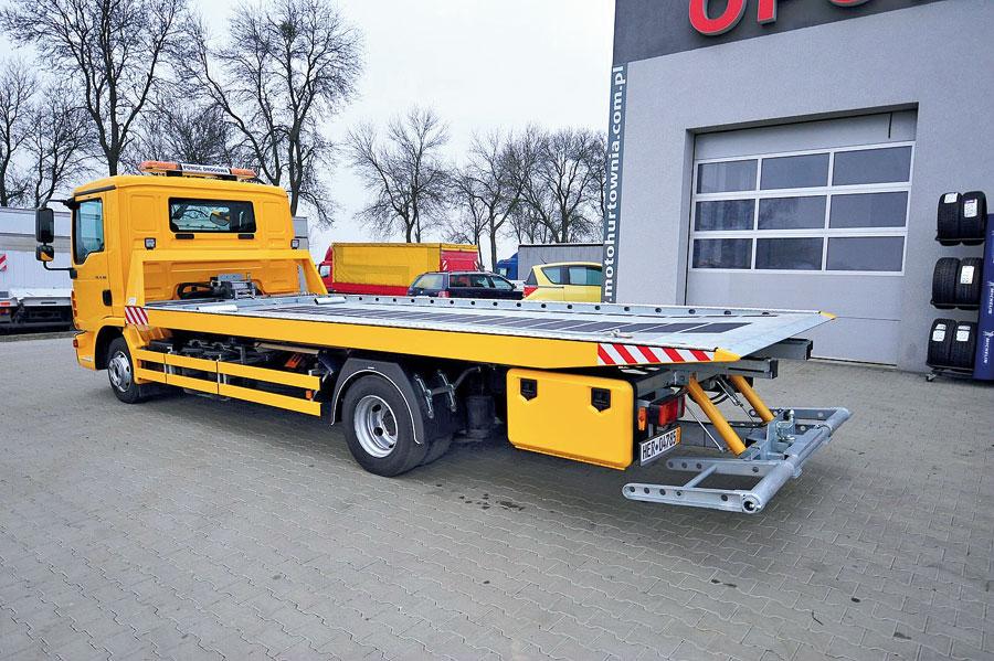 Poważne Pomoc drogowa (cz. 3) – warunki techniczne/wyposażenie pojazdu SV74