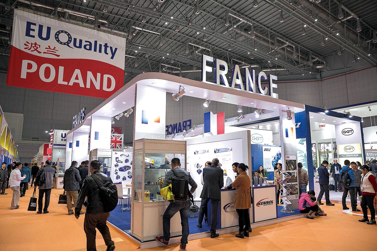 Polski sektor przyciąga uwagę zwiedzających