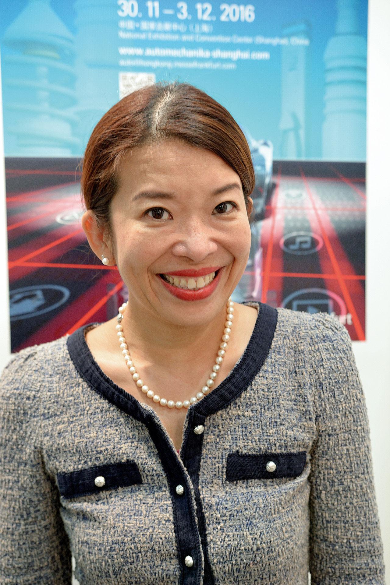 Fiona Chiew, zastępca dyrektora Messe Frankfurt wSzanghaju