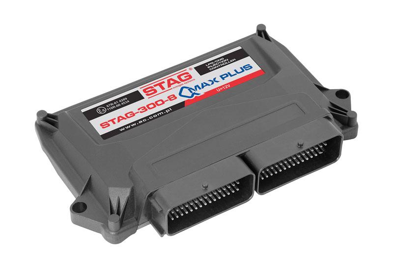STAG QMAX PLUS. Sterownik autogaz dedykowany do dużych samochodów zmocnymi silnikami.